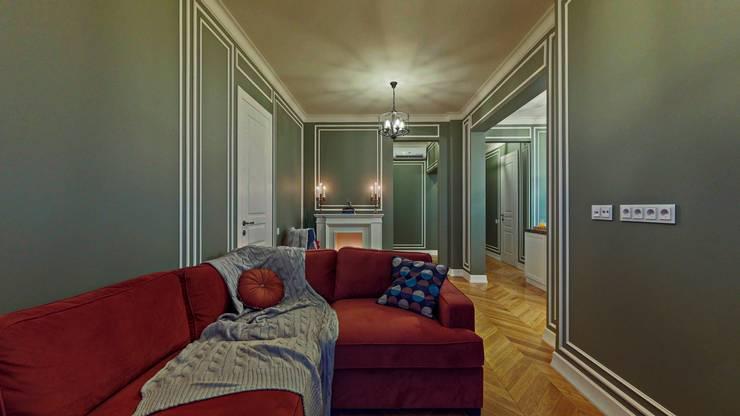 Eli's Home:  tarz Oturma Odası