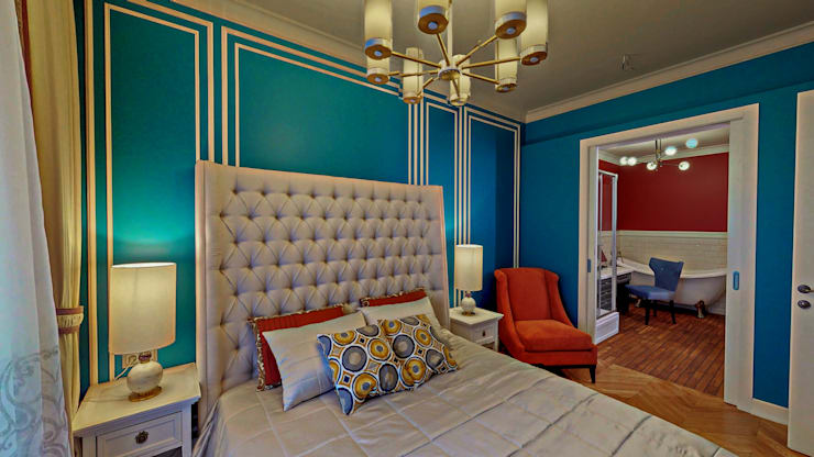 Eli's Home:  tarz Yatak Odası