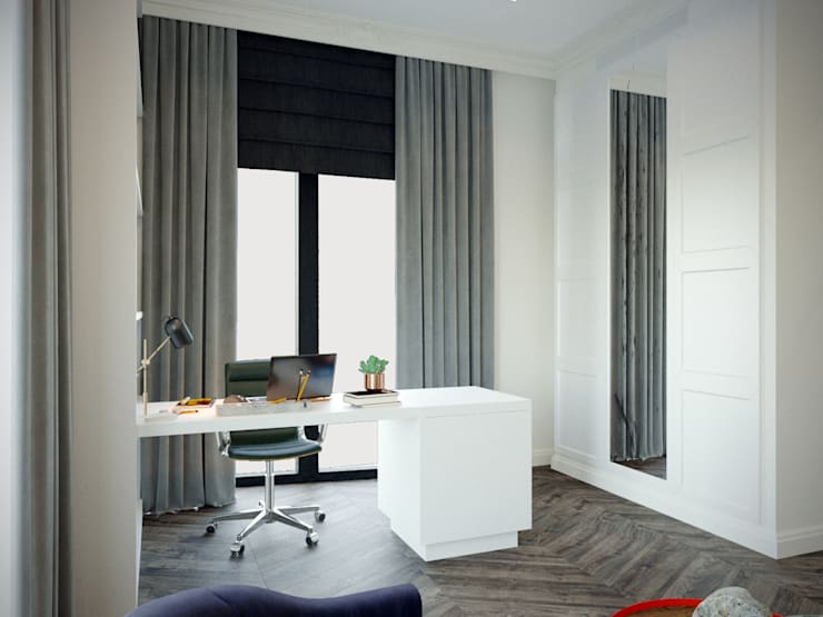 Estudios y despachos de estilo  de KOSO DESIGN