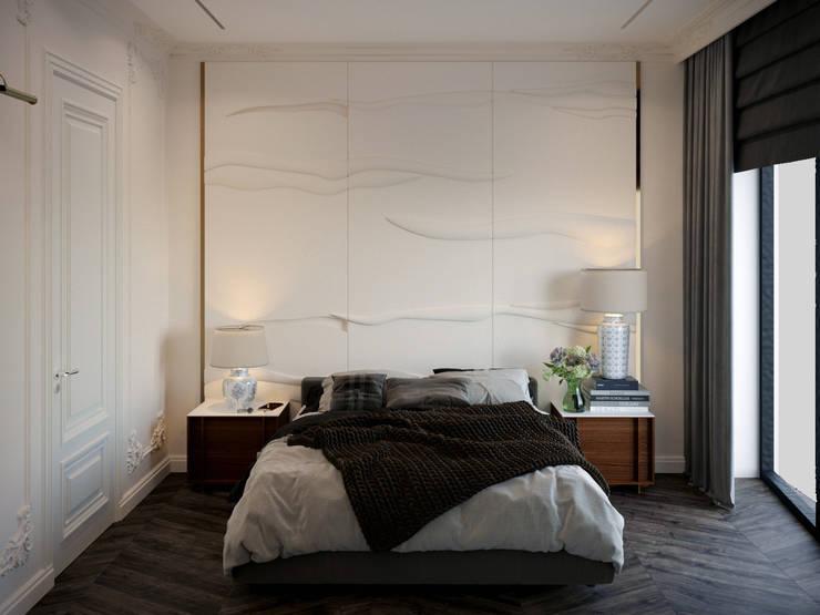 Dormitorios de estilo  de KOSO DESIGN