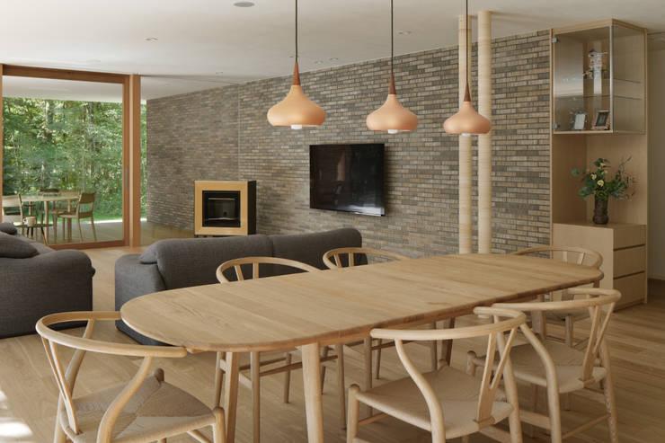 Comedores de estilo  por atelier137 ARCHITECTURAL DESIGN OFFICE,