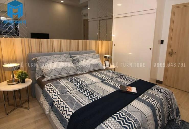 Phòng ngủ 3:  Phòng ngủ by Công ty TNHH Nội Thất Mạnh Hệ