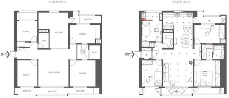 구조변경 : 디자인담다의 현대 ,모던