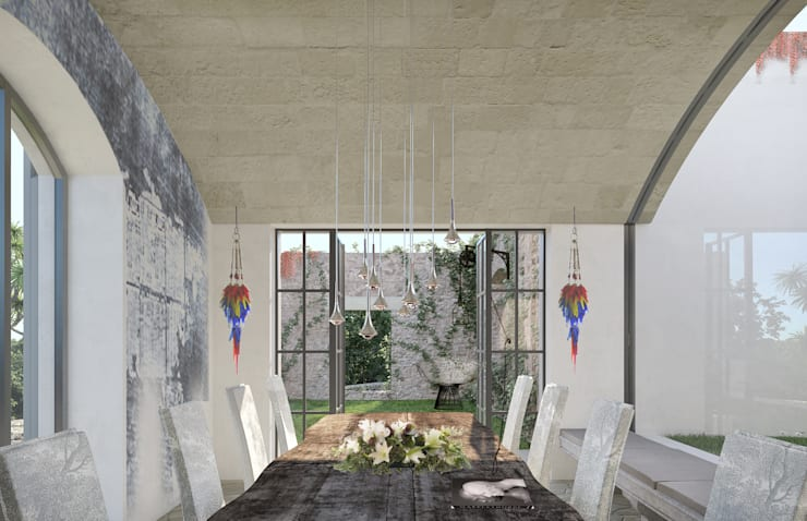 Dining room by architetto stefano ghiretti, Modern