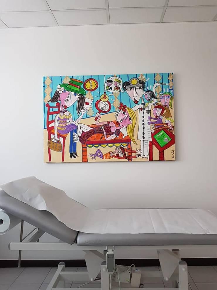 Quadri per arredamento studio medico di Quadri moderni di Alessandro ...