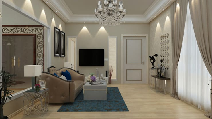 Living Room Designs Ideas:  Living room by IDEARCH