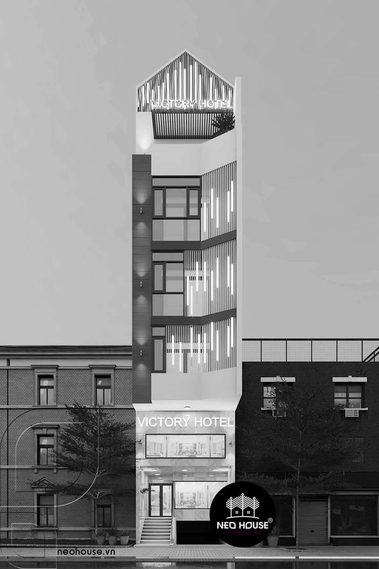 Thiết kế khách sạn 5 tầng :   by NEOHouse