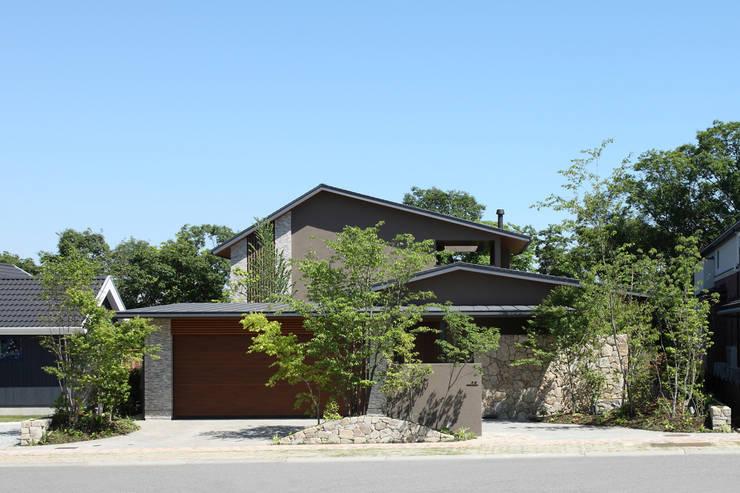 Studio tanpopo-gumi 一級建築士事務所의  빌라