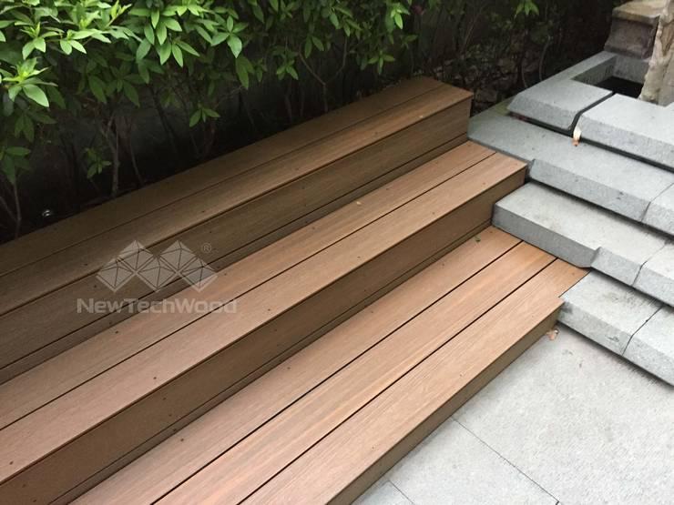 台北市─蒙特梭利幼兒園:  前院 by 新綠境實業有限公司