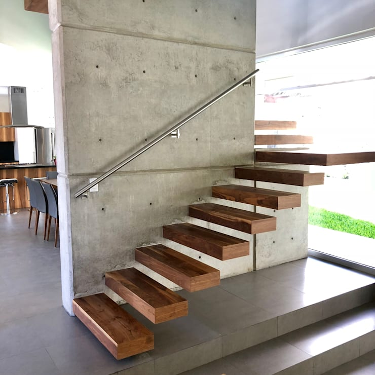 Stairs by RFoncerrada arquitectos