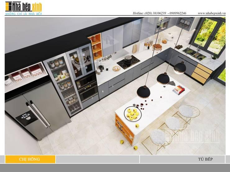 THIẾT KẾ MẪU TỦ BẾP ĐẸP HIỆN ĐẠI:  Dressing room by Nhà Bếp Xinh