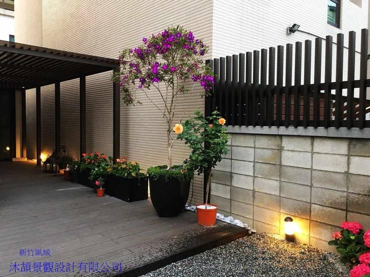 新竹風城庭園景觀:   by 沐頡景觀設計公司