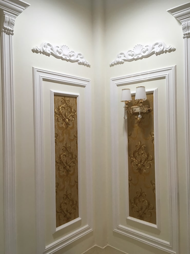 Desain Dinding Klasik 2:  Walls & flooring by PT. Leeyaqat Karya Pratama