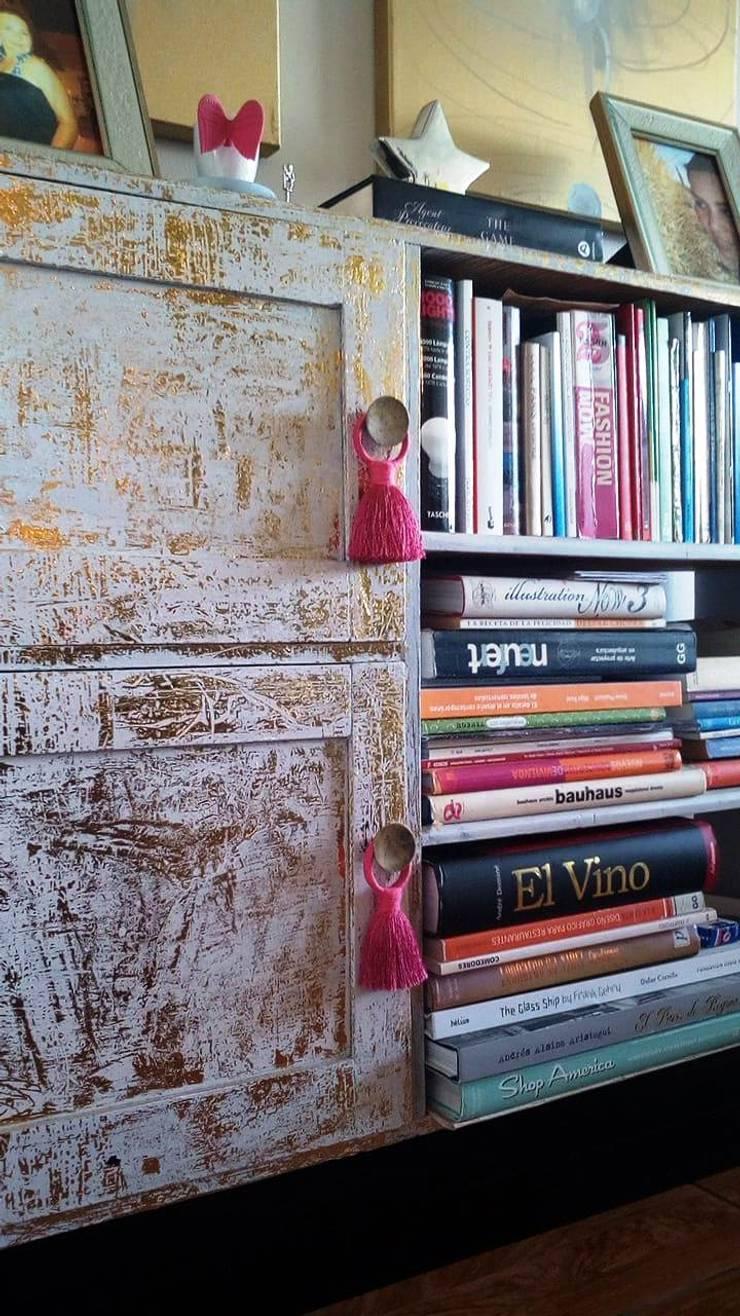Restauración de mueble: Comedor de estilo  por Graciela Ferrada