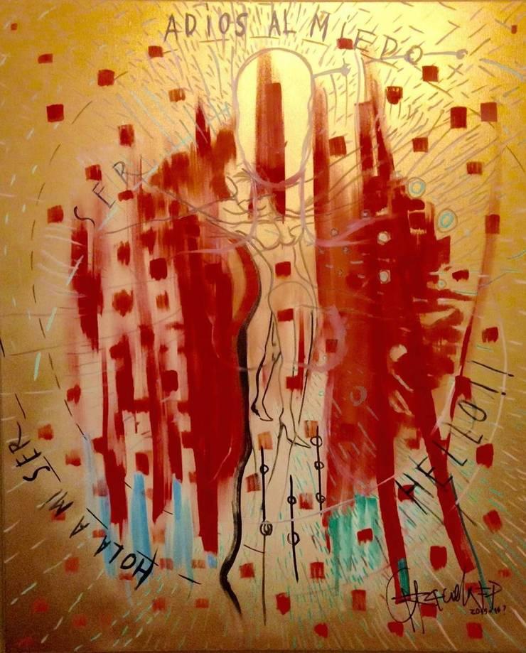 Escena para cuadro doré: Arte de estilo  por Graciela Ferrada