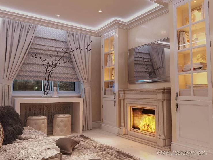 Salas de estilo clásico de студия Design3F Clásico