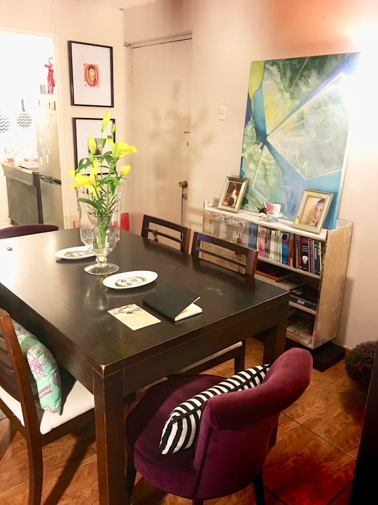 Departamento: Comedor de estilo  por Graciela Ferrada
