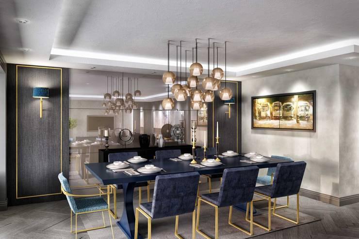 ANTE MİMARLIK  – Yemek odası:  tarz Yemek Odası