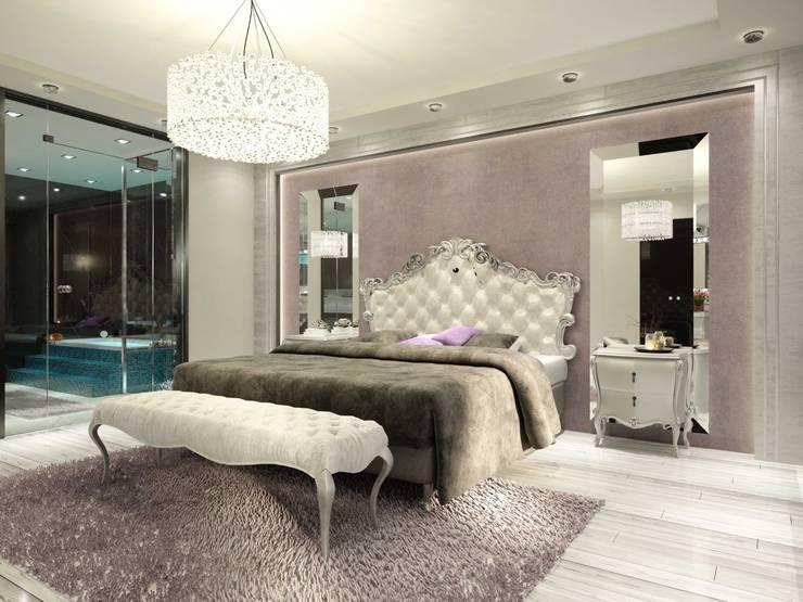 ANTE MİMARLIK  – Renkler:  tarz Yatak Odası