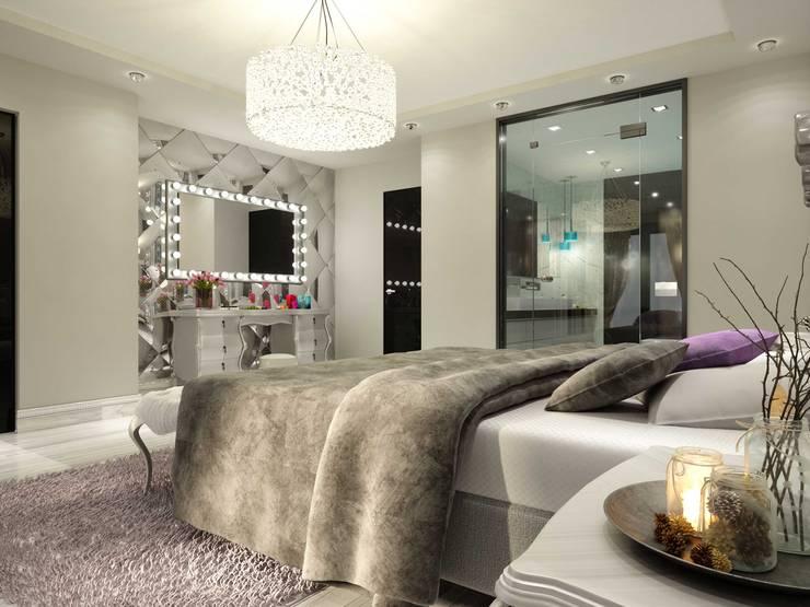 ANTE MİMARLIK  – Makyaj  masası:  tarz Yatak Odası