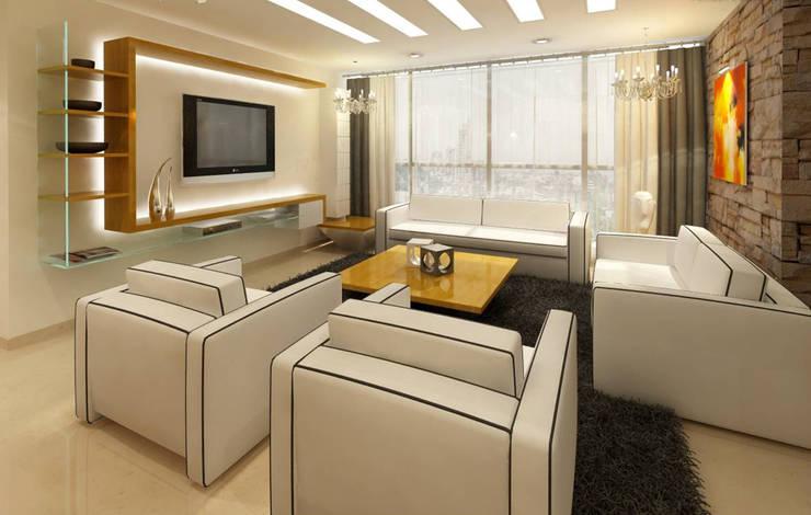 Wohnzimmer von Ardesher Enterprises Pvt Ltd.