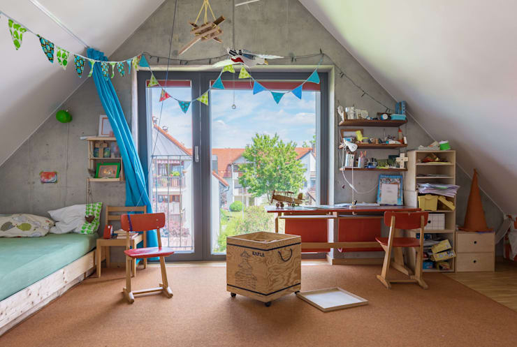 غرفة الاطفال تنفيذ WSM ARCHITEKTEN