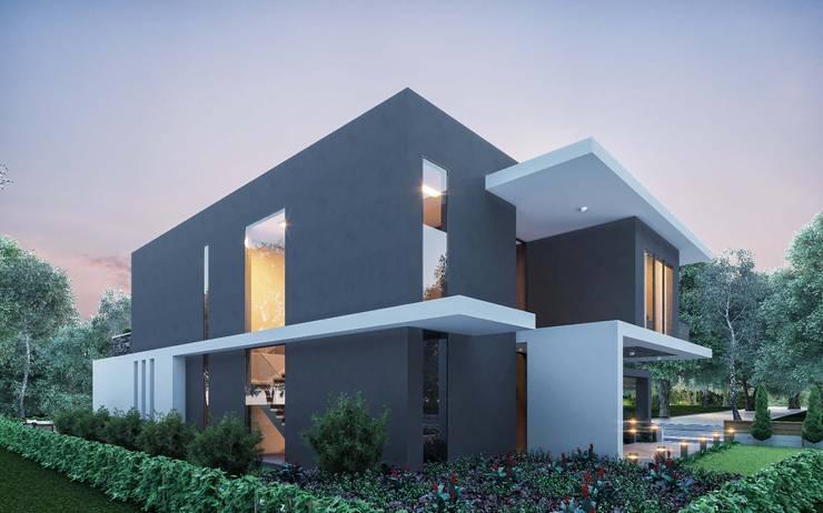 ANTE MİMARLIK  – Cephe tasarımı:  tarz Villa