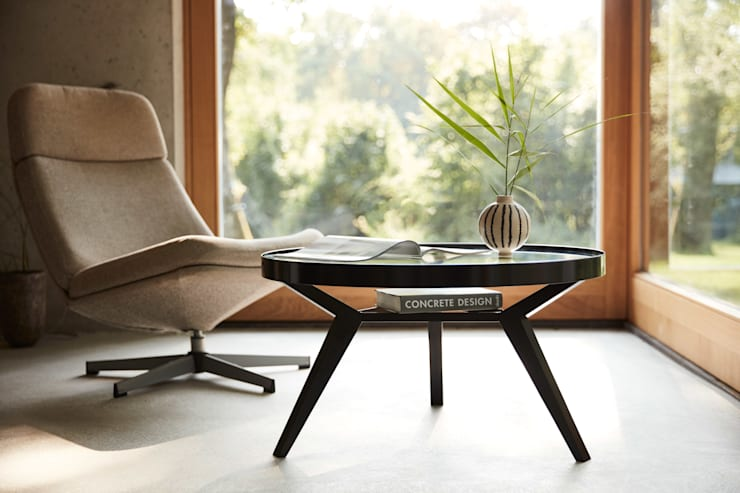 Salas de estilo  por Neuvonfrisch - Möbel und Accessoires