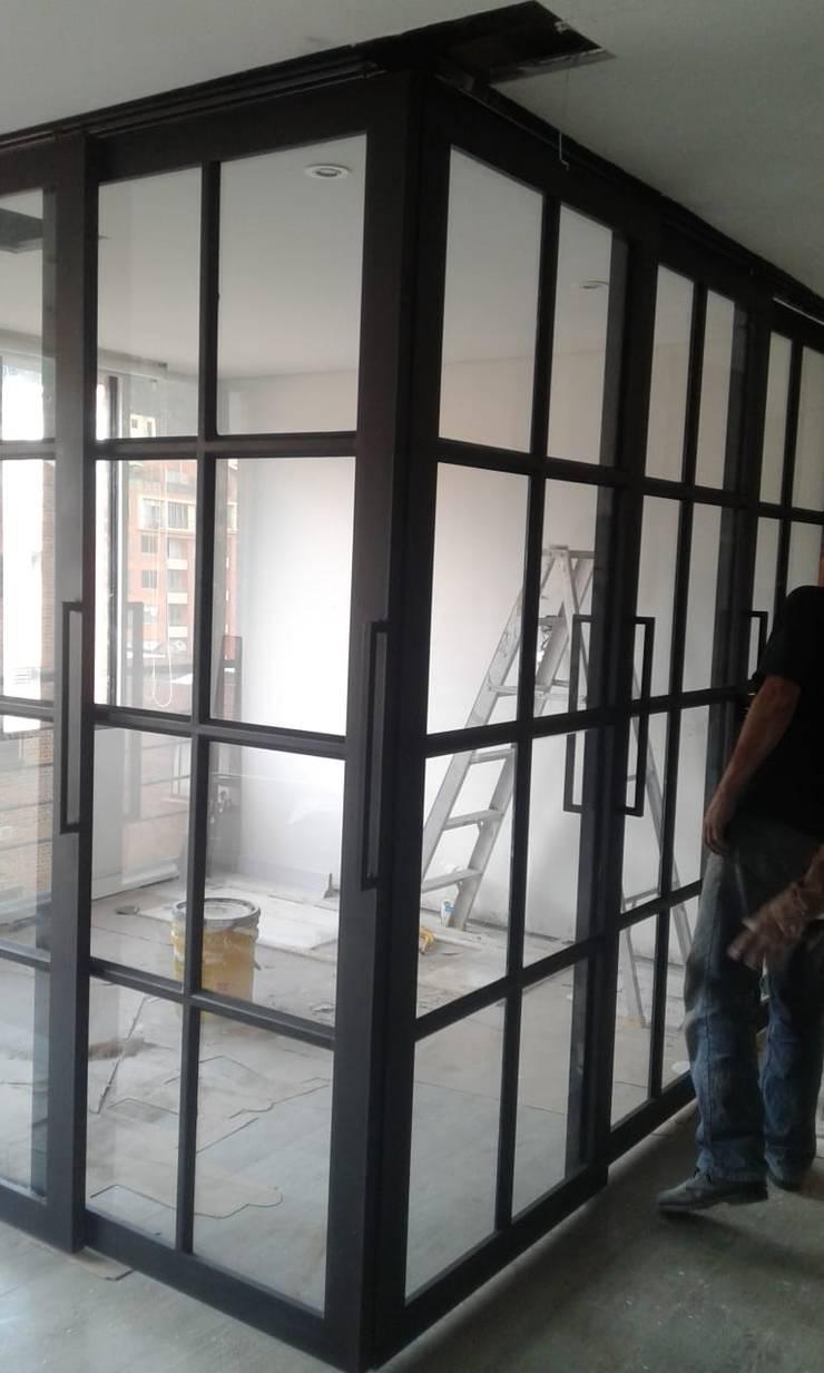 Apartamento Usaquén de CASA DINAMICA | Arquitectos de Interiores | Bogotá Moderno Vidrio