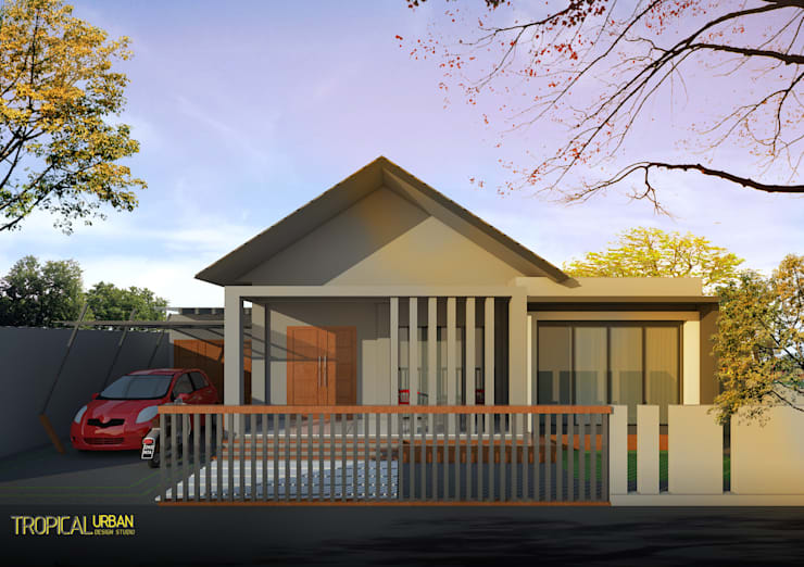 F. Rumah Bp. Ahmad:   by Tropical Urban Design Studio