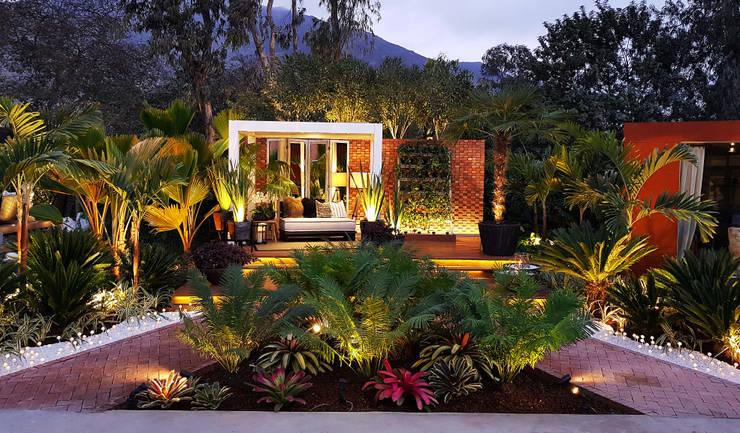 Jardines de estilo  por Marcia Lenz Paisajismo, Tropical