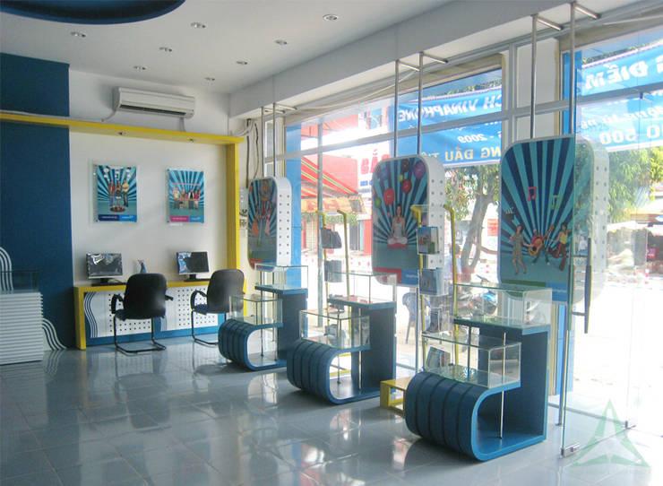 ĐIỂM GIAO DỊCH VĂN PHÒNG VINAPHONE:  Văn phòng & cửa hàng by VAN NAM FURNITURE & INTERIOR DECORATION CO., LTD.