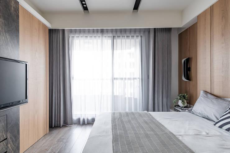 竹北市,A+7-謝宅:   by 意颺空間設計有限公司