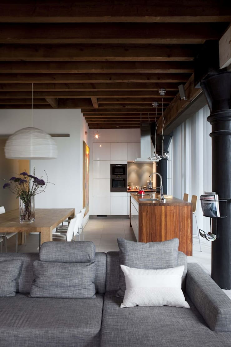 Scandinavian style living room by Thijssen Verheijden Architecture & Management Scandinavian