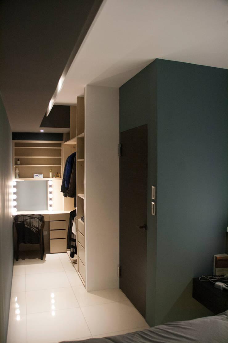 五股 謝邸:  臥室 by 16.A.DesignCrew