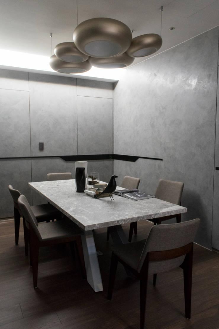 永和 夏邸:  餐廳 by 16.A.DesignCrew