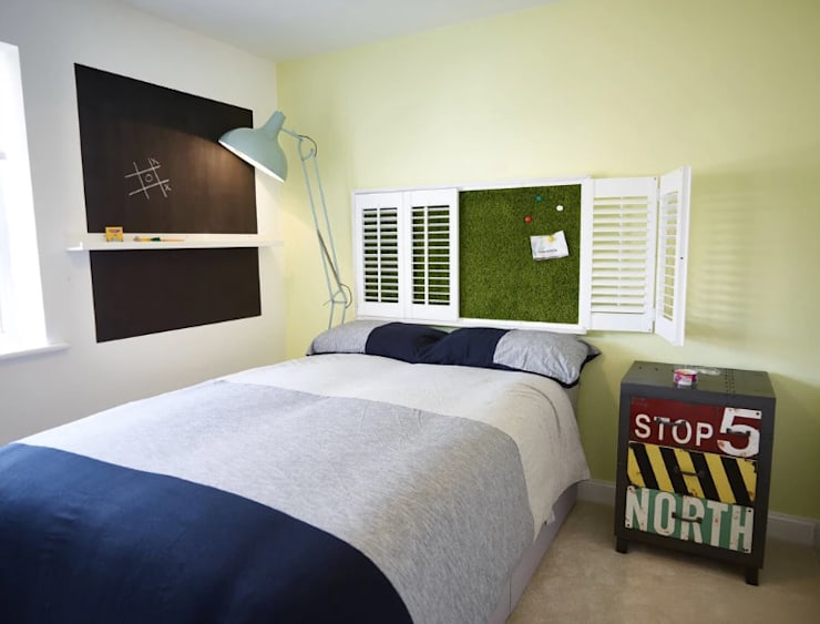 The Chalk Children's Bedroom:  Bedroom by Aorta the heart of art