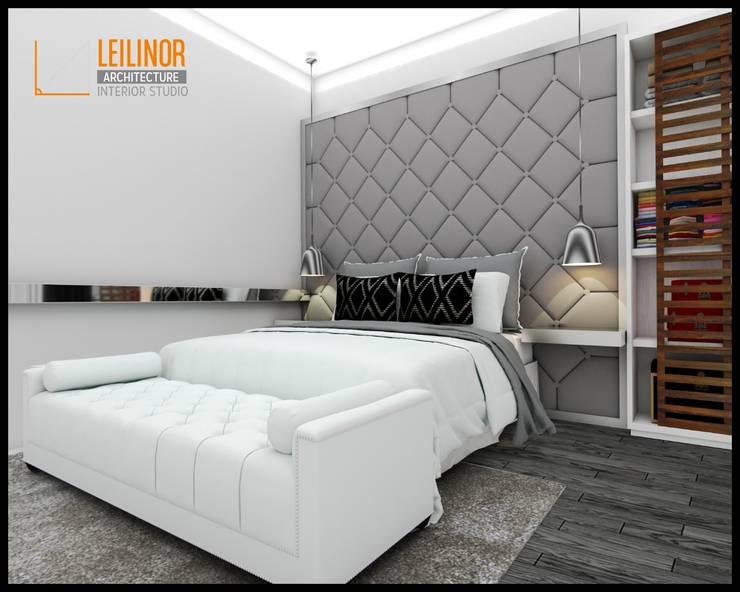 Modern Interior Project:  Kamar Tidur by CV Leilinor Architect