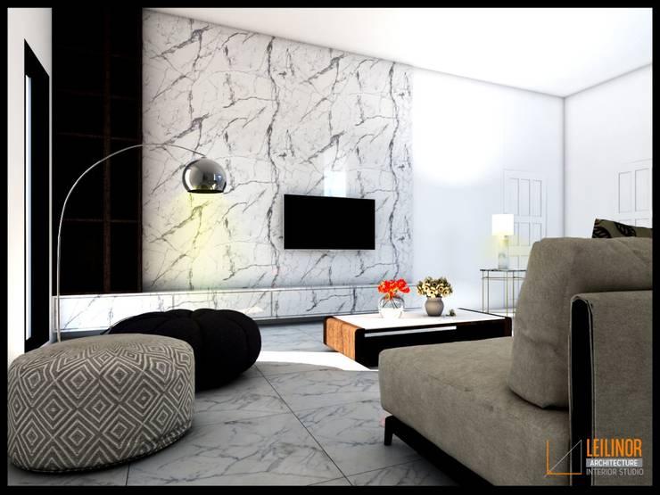 Modern Interior Project:  Ruang Keluarga by CV Leilinor Architect