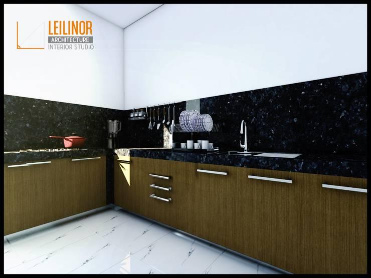 Modern Interior Project:  Dapur by CV Leilinor Architect