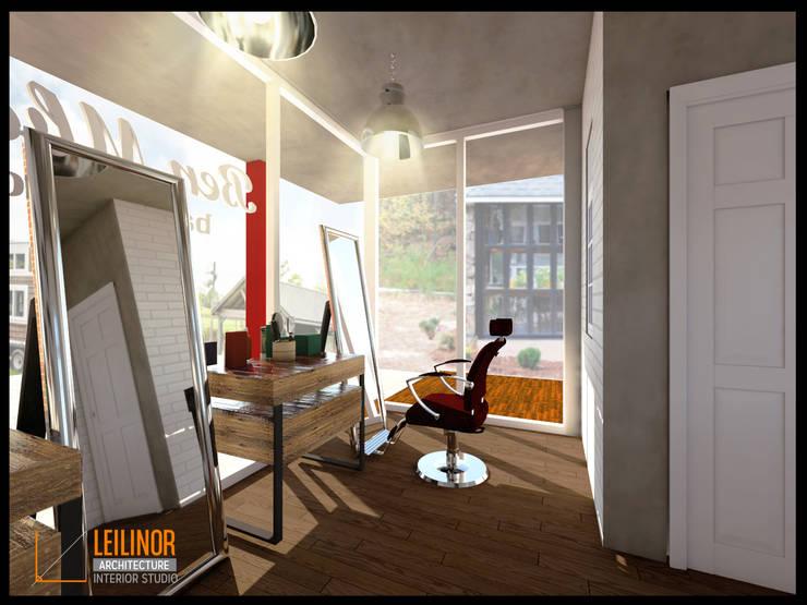 Barbershop:  Ruang Kerja by CV Leilinor Architect
