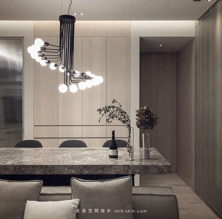 dining area:  客廳 by 湜湜空間設計