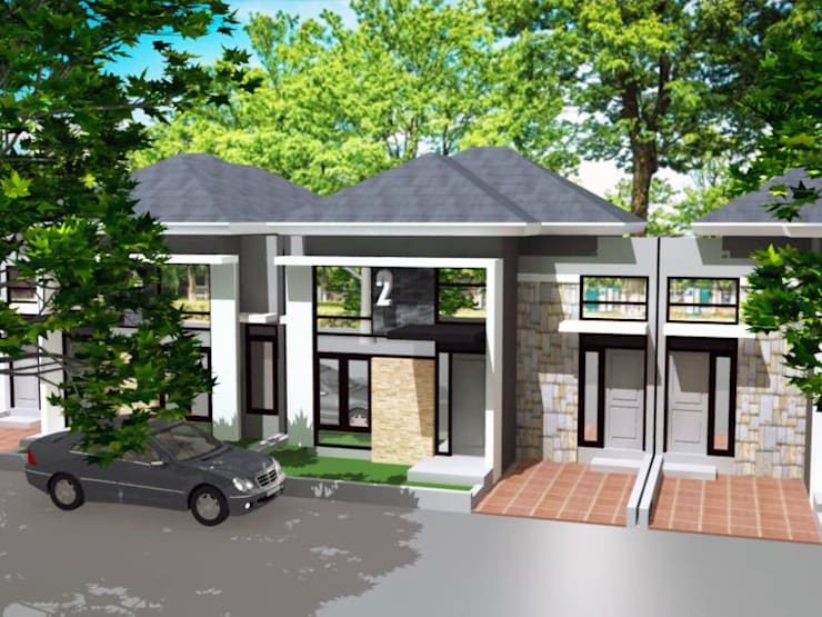 rumah komersial di Tembalang Semarang:  Rumah tinggal  by idesignarchitect78