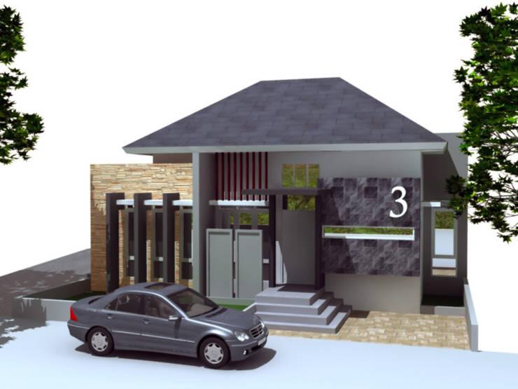 rumah tinggal di boyolali:  Rumah tinggal  by idesignarchitect78