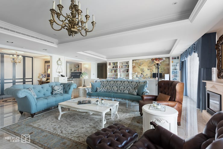 Salas de estar  por 禾廊室內設計