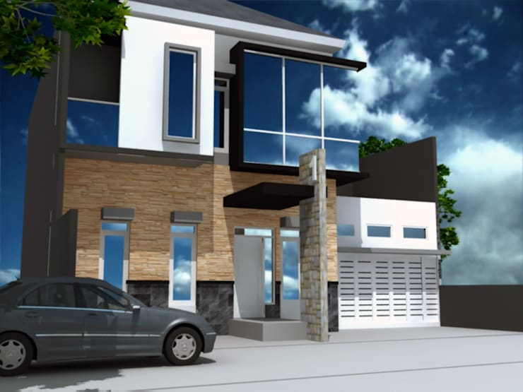 rumah tinggal di semarang:  Rumah tinggal  by idesignarchitect78