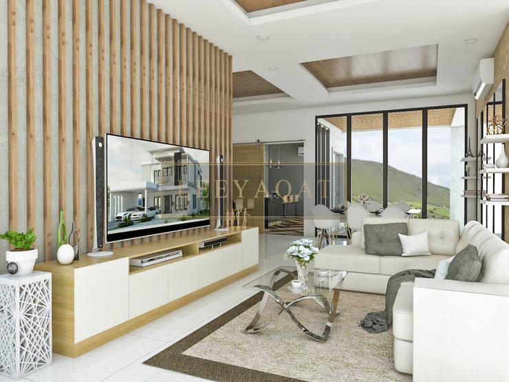 Living room by PT. Leeyaqat Karya Pratama
