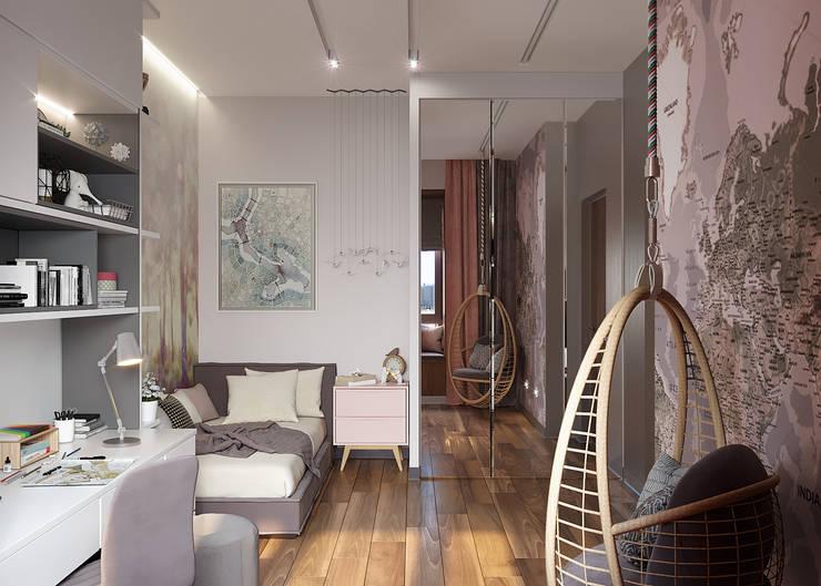 by FISHEYE Architecture & Design Minimalist