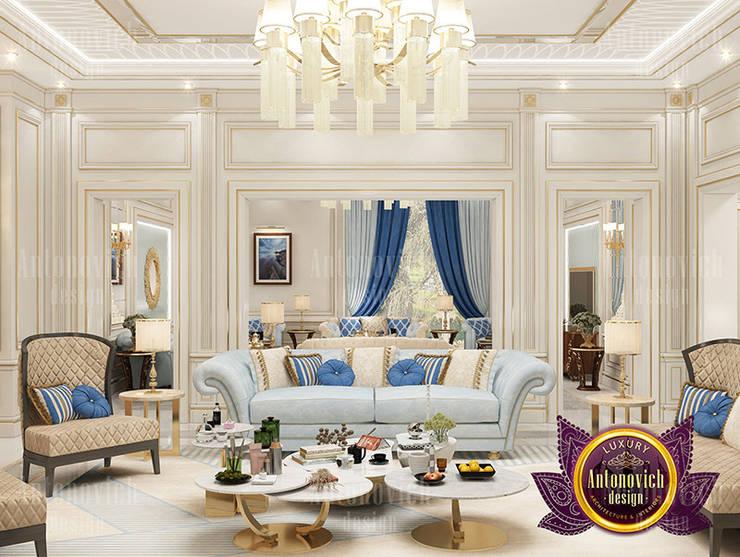 Glamorous House Design: classic  by Luxury Antonovich Design, Classic