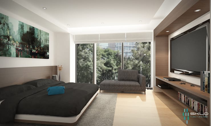 Bedroom by NEU ARQUITECTURA